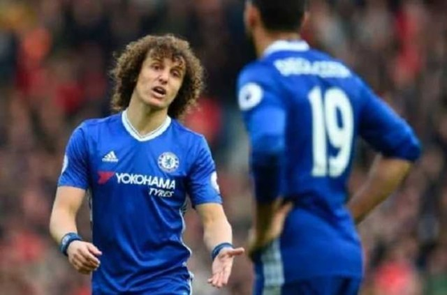 Diego Costa di Belakang Cekcok David Luiz – Conte