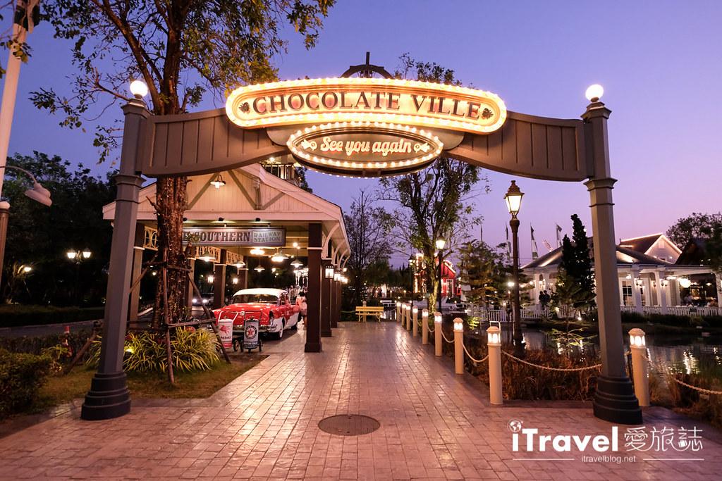 曼谷景点餐厅 巧克力村餐厅Chocolate Ville (34)