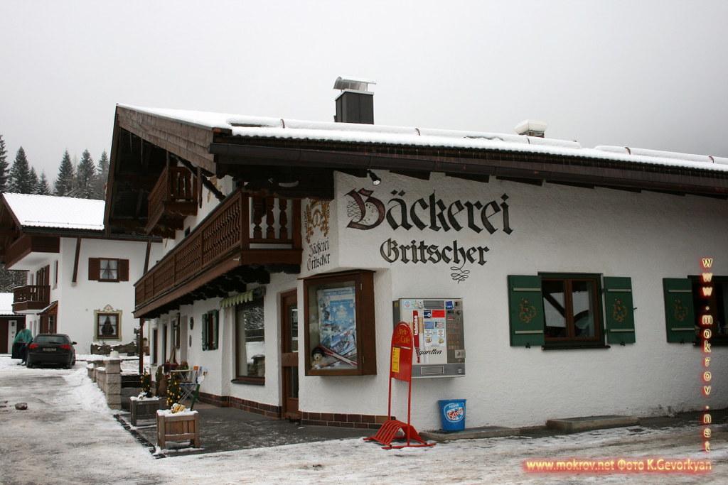 Исторический Баварии — земля на юге и юго-востоке Германии днем и вечером