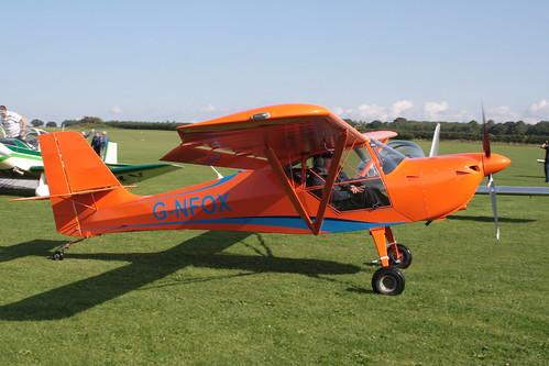 G-NFOX Aeropro Eurofox [LAA 376-15358] Sywell 020917