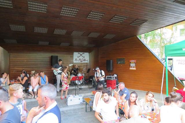 Popa Raff Band bei den italienischen Tagen 2017