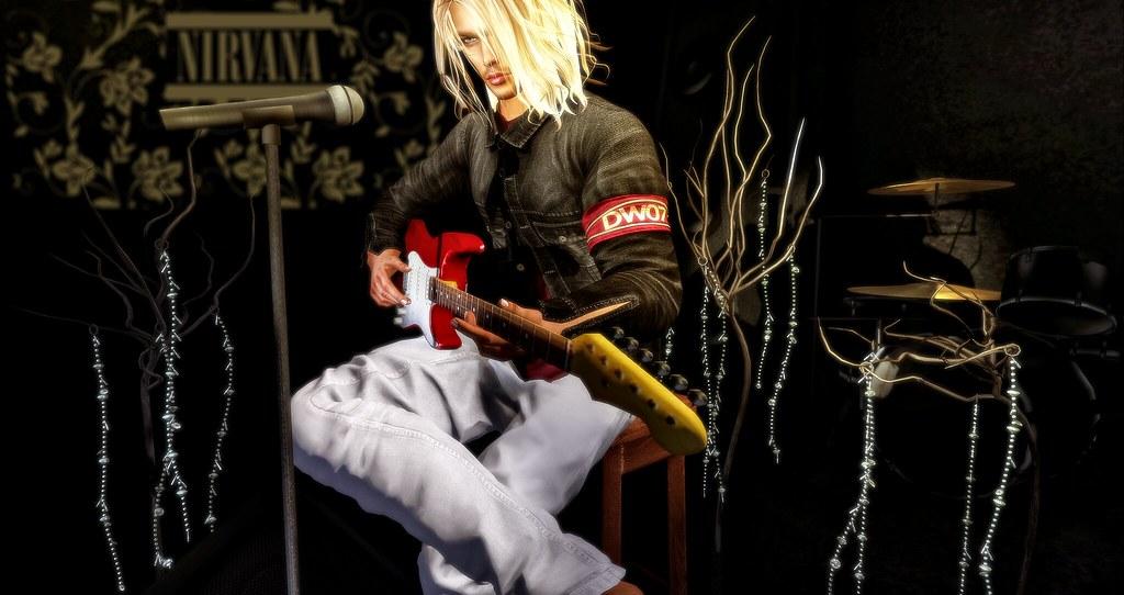 Kurt Cobain Lithium