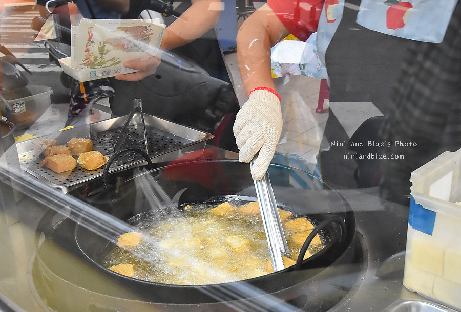 台中素食臭豆腐向上黃昏菜市場美食08