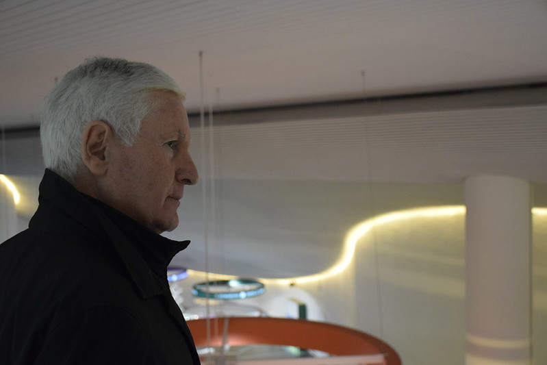 Il commissario di Città della Scienza Giuseppe Albano ha visitato Corporea e il Planetario