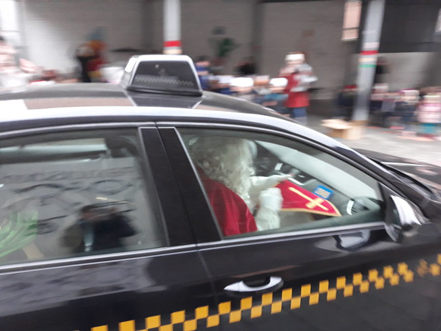 Sinterklaas in de kleuterschool