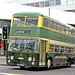 Green Bus Service, Great Wyrley: 9 (MJO393H) leaving Victoria Street, Wolverhampton