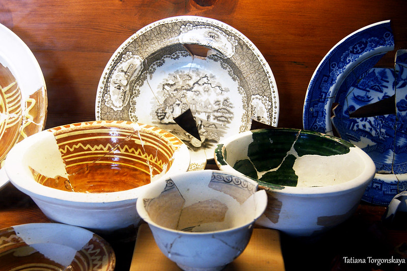 Посуда из домов Старого города
