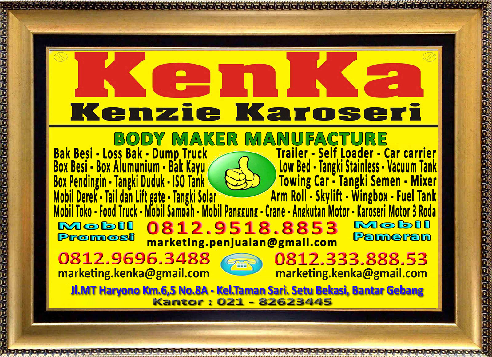 Logo KenKa - Susi - Marketing
