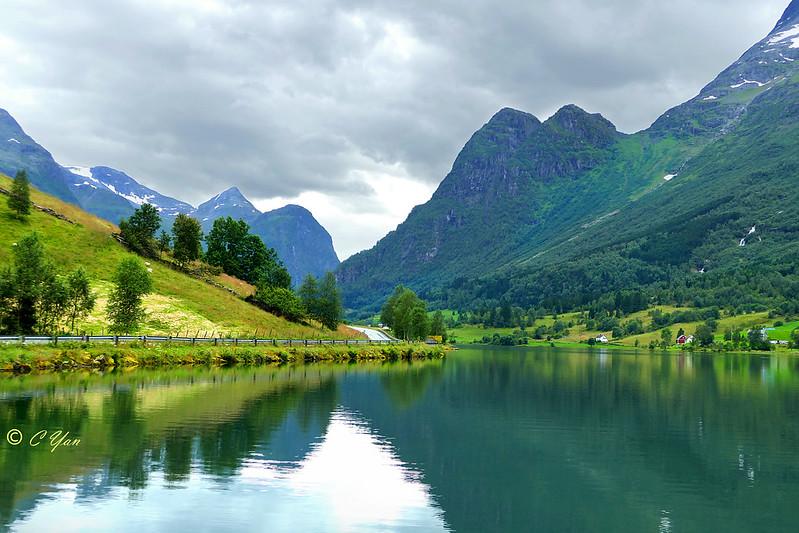 Olden Lake, Norway