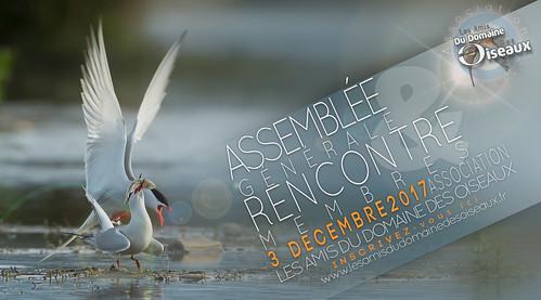 ASSEMBLEE GENERALE & RENCONTRE MEMBRES le 3 Dec 2017