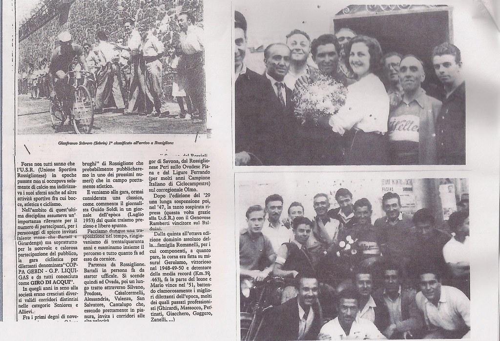 Sobrero vince il Giro di Acqui (1953)