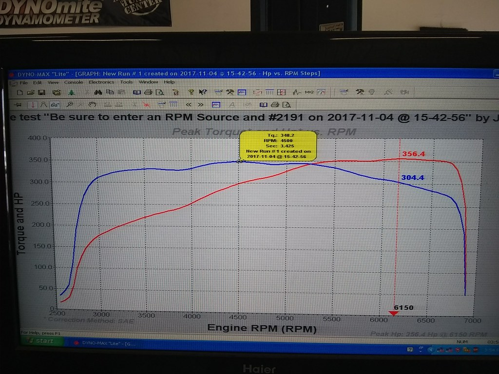 Ls Swapping My L92 Ls3 Into C5 Page 4 Ls1tech Camaro And Supercharger Belt Diagram Http Wwwautozonecom Autozone 356rwhp At 6150rpm 348 Ft Lbs Of Torque 4500rpm