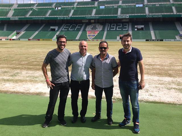 Acuerdo de Patrocinio Estadio Martínez Valero, Elche CF