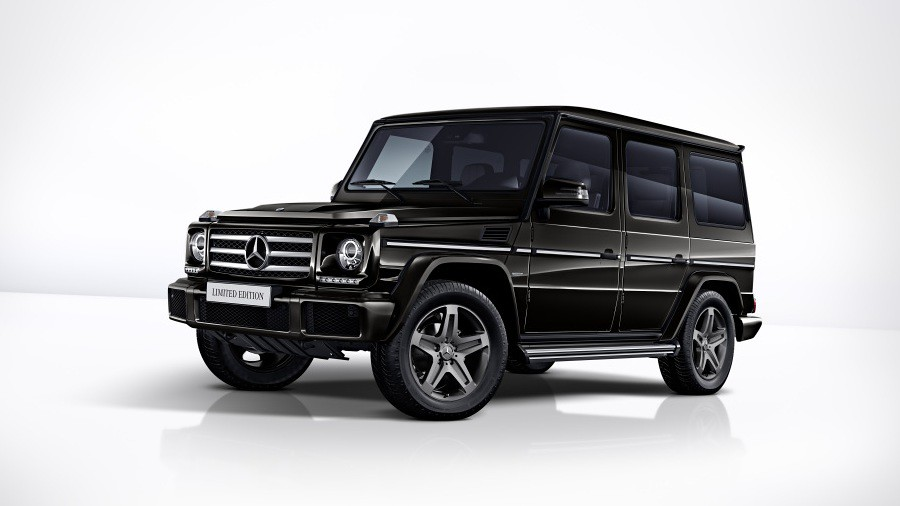 mercedes g-class limited edition 7