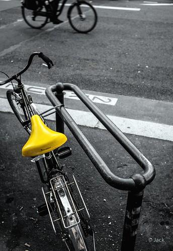 la selle jaune
