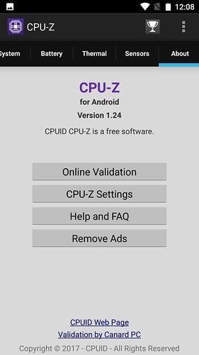 CUBOT Note Plus ベンチマークテスト編 (8)