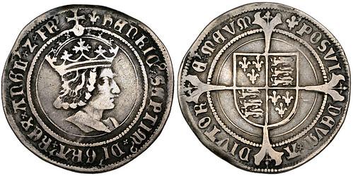 1502 Henry VII testoon