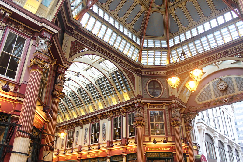 Leadenhall Market, London / etdrysskanel.com