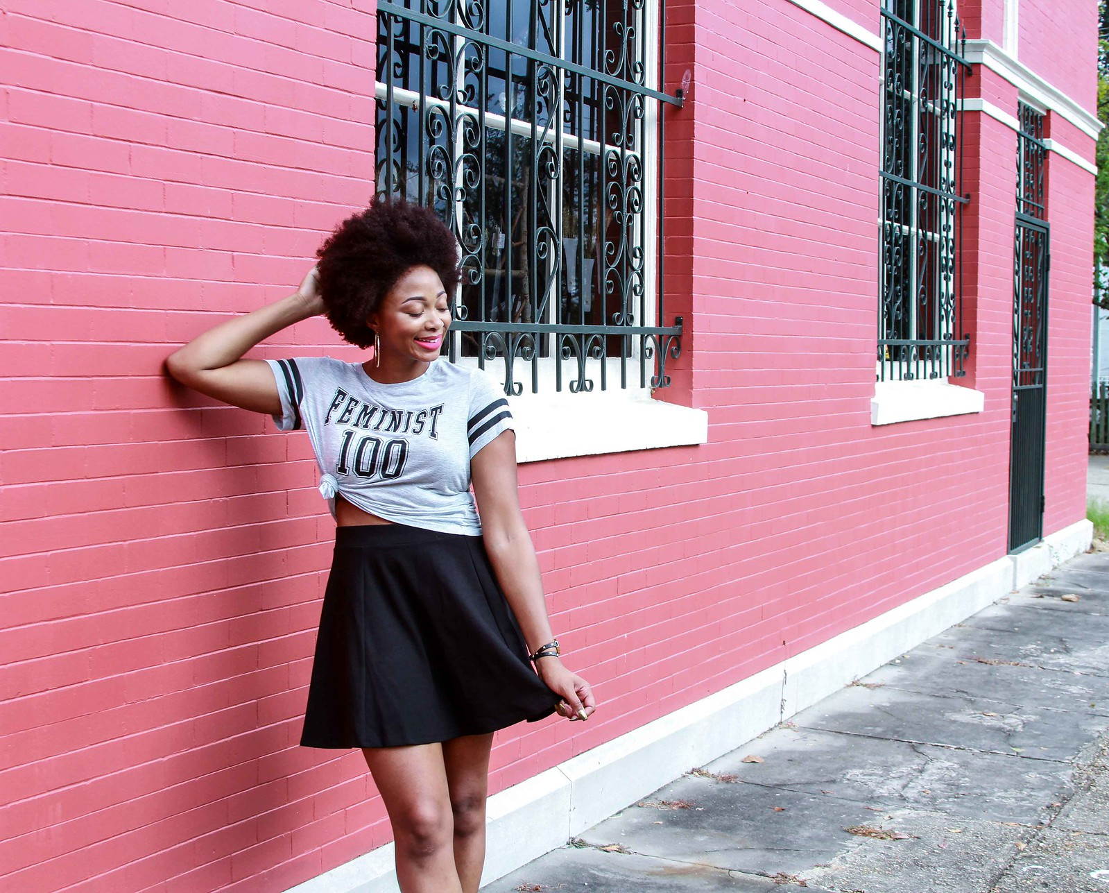 how to style a circle skirt, candace hampton