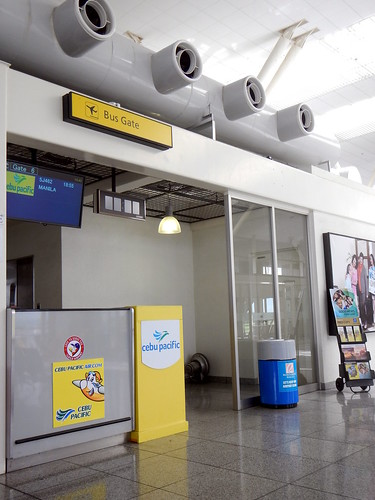 cebu pacific bus boarding gate departure iloilo international airport rpvi ilo