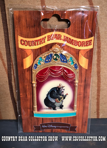 2013 Walt Disney Imagineering LE Big Al Pin - Country Bear Collector Show #125
