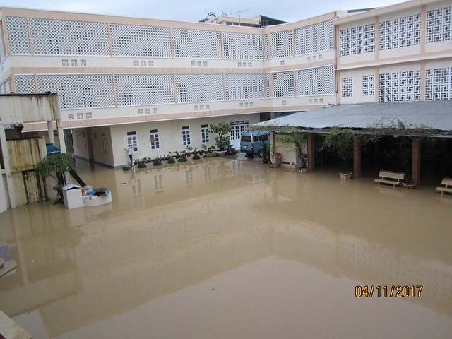 Những thiệt hại do cơn bão tại Hội Dòng Khiết Tâm Đức Mẹ Nha Trang