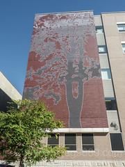 Washington Heigths Academy Wall Mural, Inwood, New York City