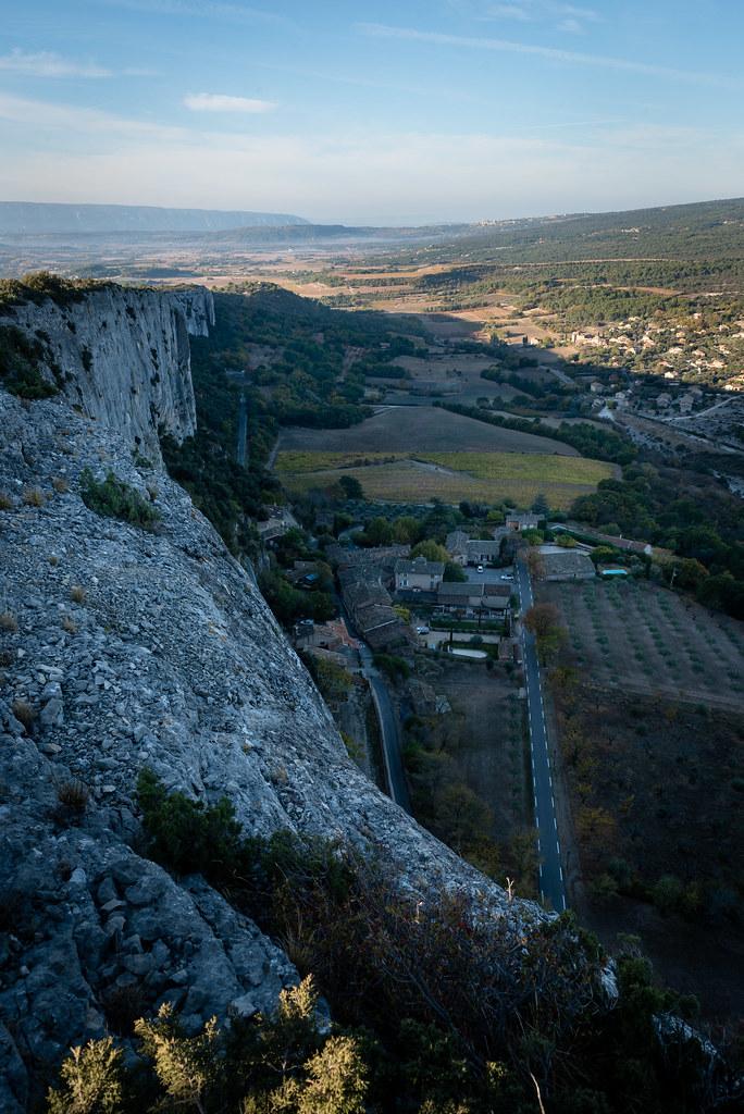 Du haut des falaises de Lioux