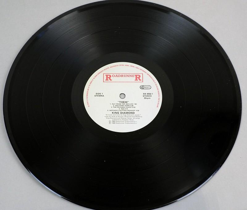 "KING DIAMOND THEM 12"" LP ALBUM VINYL"