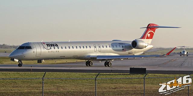 NWA Airlink (opb Mesaba Airlines) | Bombardier | CRJ-900LR | N926XJ | F/N:926 | S/N:15184