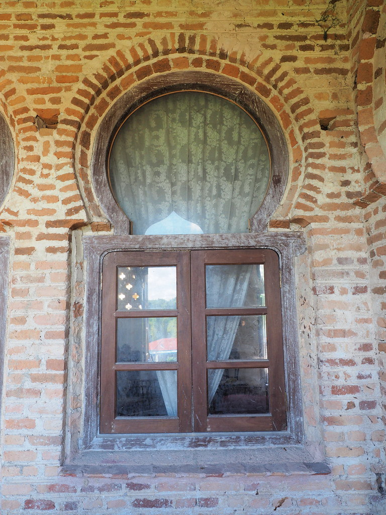 A window in Kellie's Castle