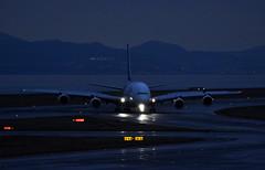 Thai Airways, HS-TUD, Airbus A380-841 at KIX