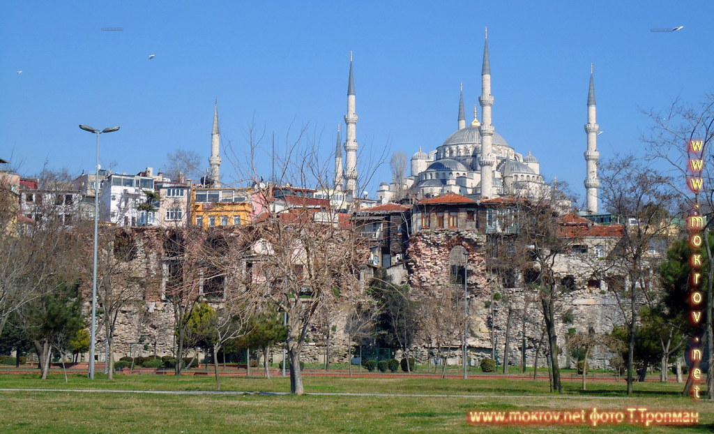 Город Стамбул — Турция пейзажи