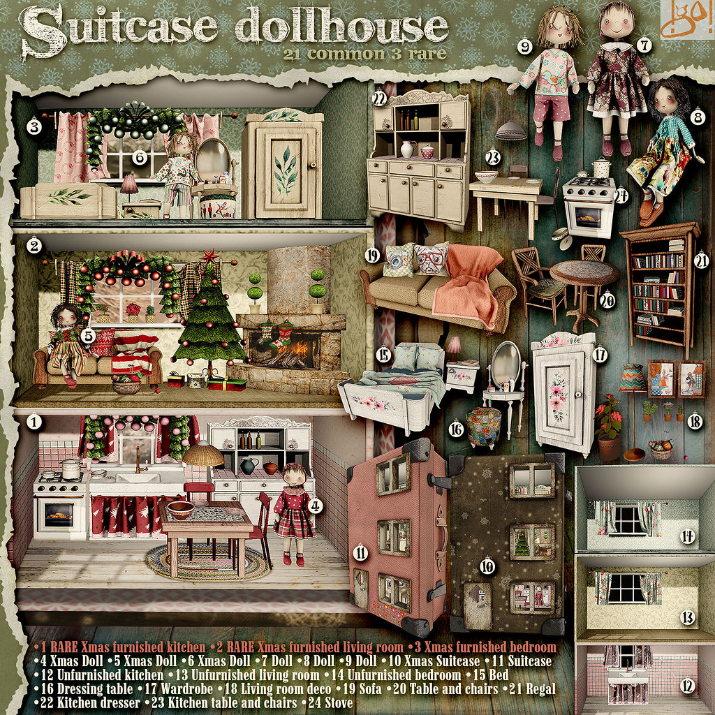 !gO! Suitcase Dollhouse - Gacha Key - TeleportHub.com Live!