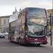 First West of England Unibus Enviro 400 MMC YX66 WEU 33945, Bath Spa 17.11.17
