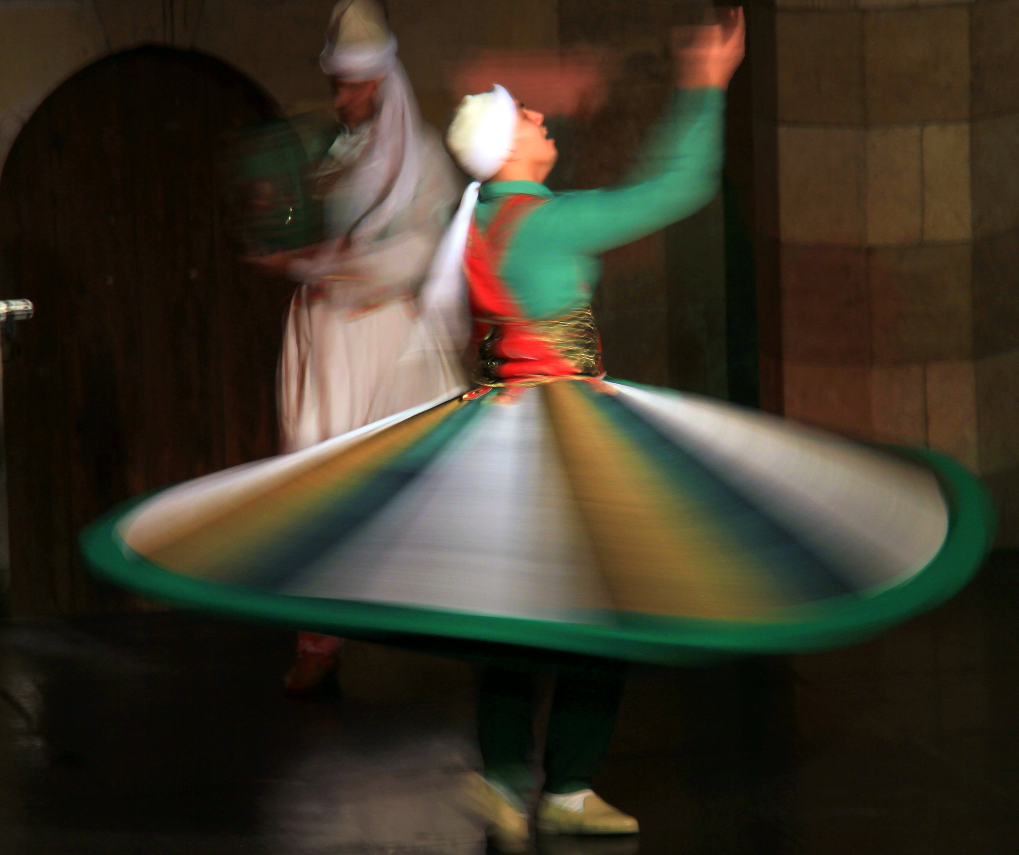Tanoura is a traditional Egyptian dance
