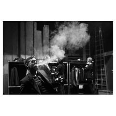 Smoke screen, Vaduz Leica Q . #leicaQ #leica #leicacamera #leicaqtyp116 #leicacraft #leica_photos #leica_uk #leica_world #leicaphotography #twitter #geoffroyschied #blackandwhiteisworththefight #blackandwhite #monochrome #bw #noiretblanc #backstage #smoke