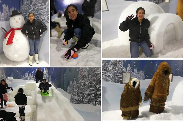 Parkway Parade Snow Fun House