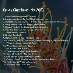 Christmas Mix 2016 Index
