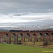 48151 Santa Special - Whalley Viaduct 3-12-2017