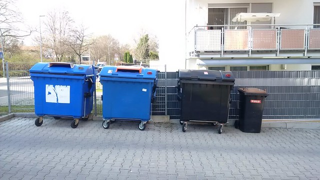 Trash separation in Reutlingen