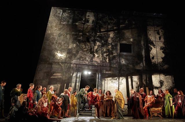 Rigoletto The Royal Opera Season 2017/18 © ROH 2017. Photograph by Mark Douet.
