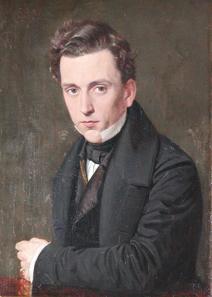 Nicolai Wilhelm Marstrand (1810-1873) - Henrik Rung (c.1835)
