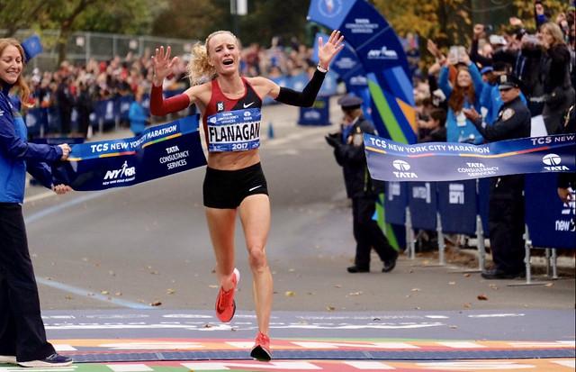 Shalane Flanagan Maraton de Nueva York 2017