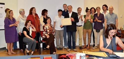 consegna diploma agopuntura Paolo Quintarelli 27 maggio 2017