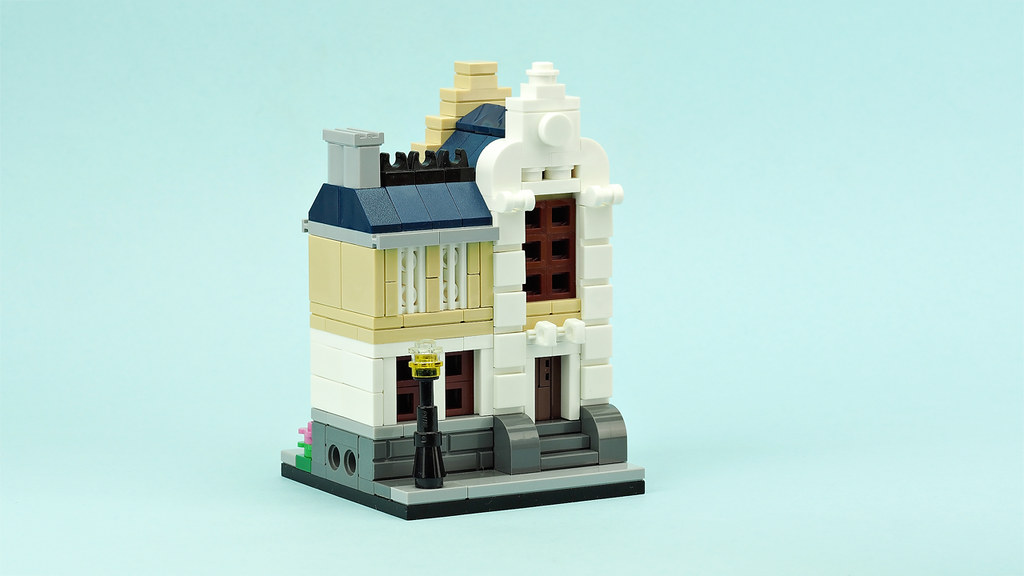 Mini modular townhouse