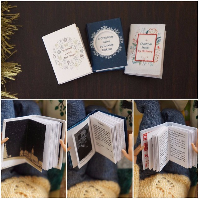 Miniature book for Christmas 2