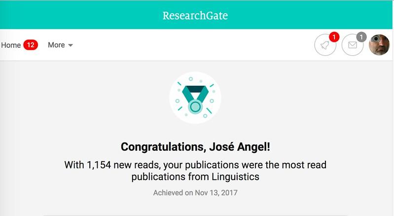 Congratulations, José Angel!