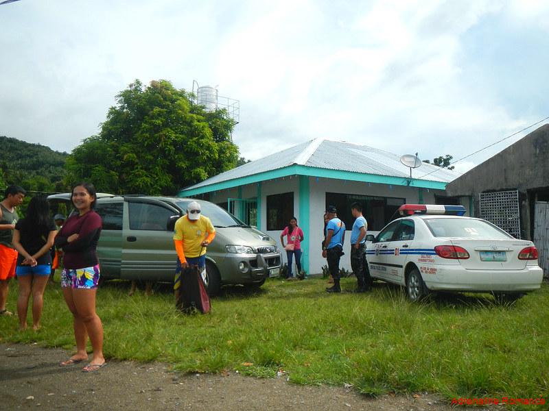 Arrival at Barangay Pajo