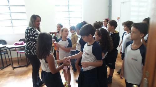 Aula Experimental com alunos do Ensino Fundamental I
